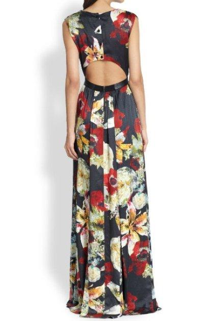 画像3: 再販売!【リベンジ使用、エミリー着用】Alice+Olivia    Triss Floral Maxi Dress