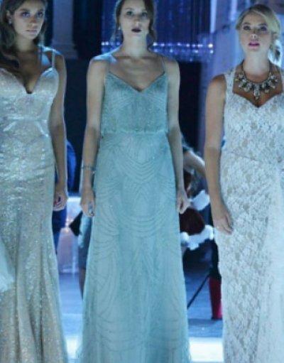 画像3: ドラマ【プリティリトルライヤーズ使用】Adrianna Papell   Beaded Blouson Dress mist