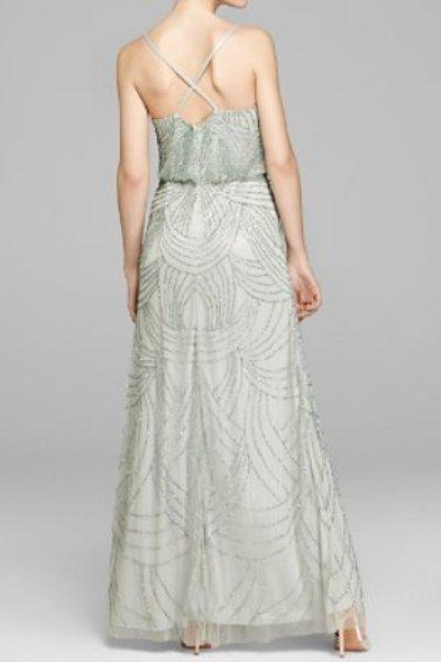 画像2: ドラマ【プリティリトルライヤーズ使用】Adrianna Papell   Beaded Blouson Dress mist