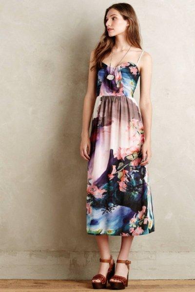 画像1: ドラマ【プリティリトルライヤーズ使用】Corey Lynn Calter  Daybreak Midi Dress (1)