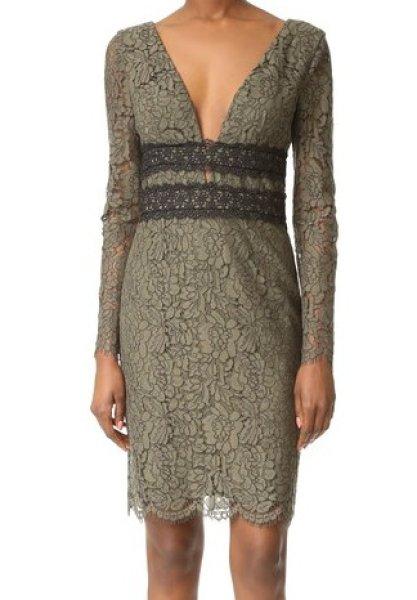 画像1: 【ドラマ使用】Diane von Furstenberg ダイアンフォンファステンバーグ Viera Lace Dress  (1)