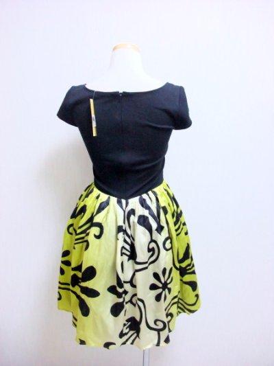画像2: 【ゴシップガール ブレア着用】Alice + Olivia アリスアンドオリビア Trellis-Print Belted Dress