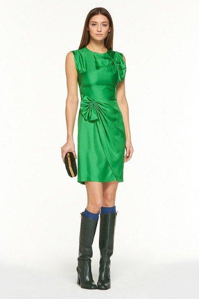 画像1: 再販売【ゴシップガール使用】Diane Von Furstenberg ダイアンフォンファステンバーグ agata dress グリーン (1)