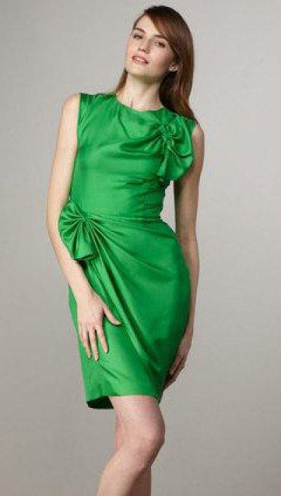 画像1: 再販売【ゴシップガール使用】Diane Von Furstenberg ダイアンフォンファステンバーグ agata dress グリーン