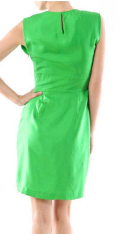 画像2: 再販売【ゴシップガール使用】Diane Von Furstenberg ダイアンフォンファステンバーグ agata dress グリーン