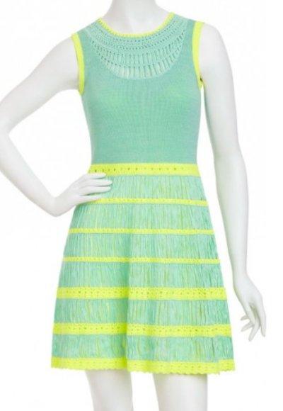 画像1: 【ヴァンサンカン掲載】Nanette Lepore    Class Flirt Knit Dress  ラグーン