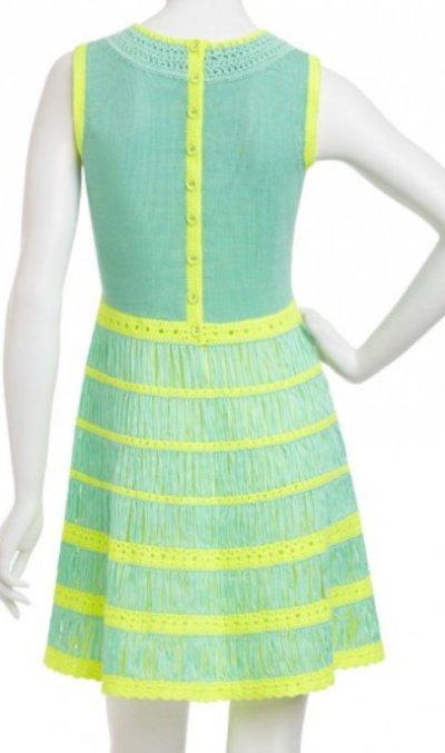 画像2: 【ヴァンサンカン掲載】Nanette Lepore    Class Flirt Knit Dress  ラグーン