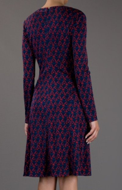 画像1: 【ヴァンサンカン掲載】Issa London  フロントクロスプリントドレス