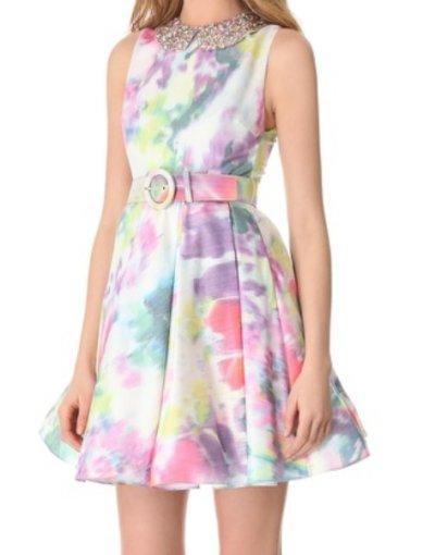画像1: 【土屋アンナさん、Sami Gayle着用】alice + olivia    lollie dress