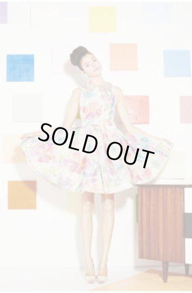 画像1: 【土屋アンナさん、Sami Gayle着用】alice + olivia    lollie dress (1)