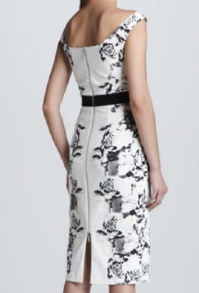 画像1: Black Halo     Brooke Rose Noir Dress