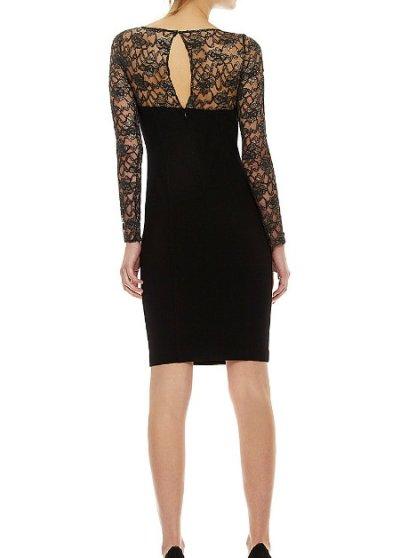 画像1: Jill by Jill Stuart     Illusion Neckline Dress