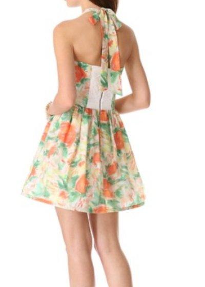 画像2: 【The Carrie Diaries、キャリー着用】Alice & Olivia  Fleur bustier dress