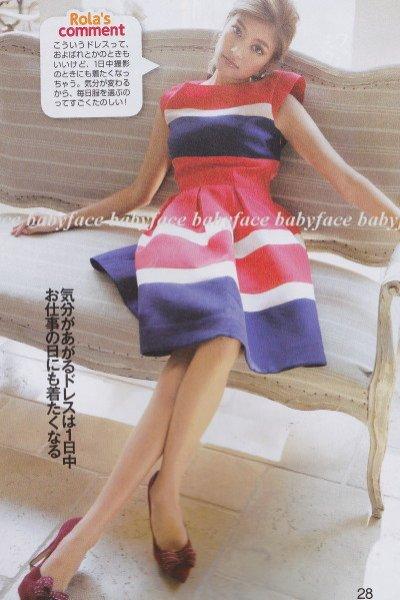 画像1: 【アンドガール表紙、ローラさんご着用】kate spade new york  britta dress   (1)