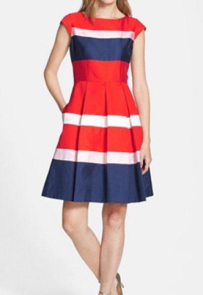 画像1: 【アンドガール表紙、ローラさんご着用】kate spade new york  britta dress