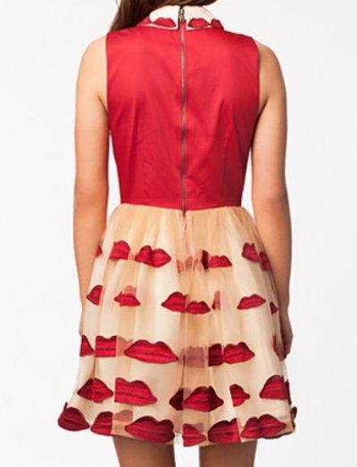 画像3: 【パリスヒルトン、大島優子さん着用】Alice+Olivia   Lip Pouf dress