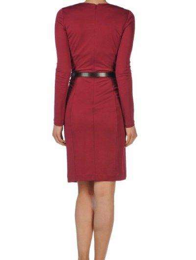 画像1: Gucci フロントドレープジャージードレス