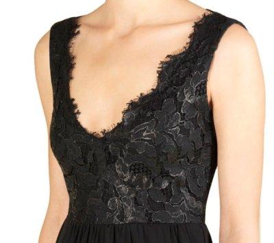 画像2: GUCCI レーストップブラックドレス
