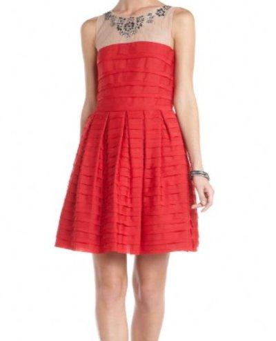 画像1: 【AneCan掲載】BCBG MAXAZRIA    Marina Tiered A-Line Skirt Dress