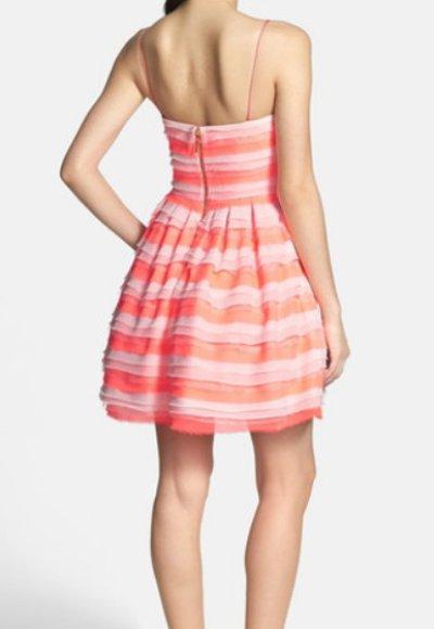 画像2: 【ドラマ使用】ERIN erin fetherston  Azalea Tiered Chiffon Dress