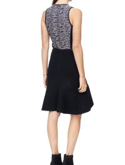 画像1: ドラマ【BONES】使用!Rebecca Taylor   Textured Dress