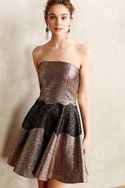 画像1: 【ドラマ使用】SB by Sachin and Babi  Foil Brocade Mini Dress   (1)