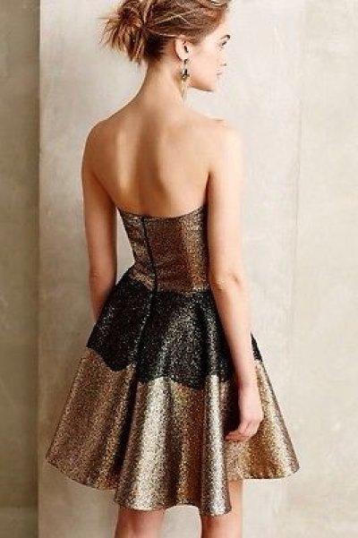 画像1: 【ドラマ使用】SB by Sachin and Babi  Foil Brocade Mini Dress