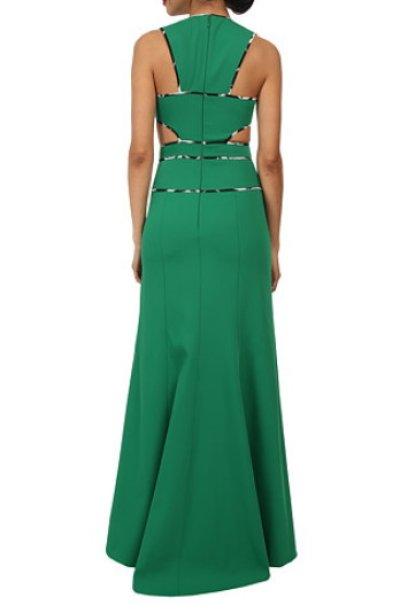 画像2: 【Sofia Reyes愛用】BCBGMAXAZRIA  Nikkole Sleeveless Side Cutout Gown