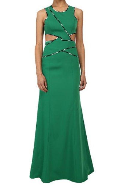 画像1: 【Sofia Reyes愛用】BCBGMAXAZRIA  Nikkole Sleeveless Side Cutout Gown