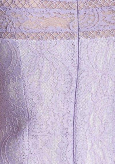 画像2: 【アンミカさん着用】Tadashi Shoji  Bonded Lace Trumpet Gown