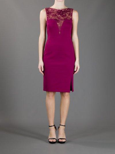 画像1: 【Jennie McAlpine愛用】Emilio Pucci レーストップシースドレス