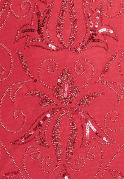 画像3: Adrianna Papell   Beaded Mermaid Gown レッド系