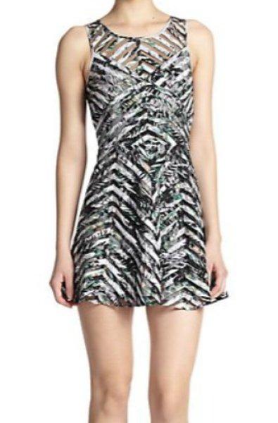 画像1: ドラマ【BONES】使用!Parker    Mirabella Printed A-Line Dress (1)