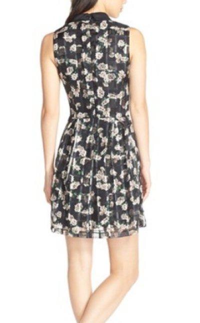 画像1: 【ヴァンサンカン掲載】ERIN erin fetherston    Cara Floral Organza Dress