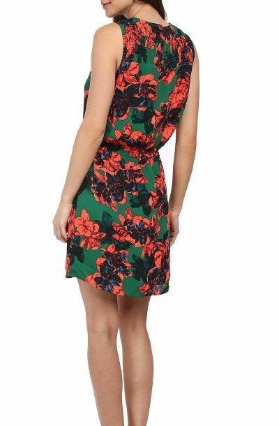画像1: ドラマ【プリティリトルライヤーズ】使用!Vince Camuto    Batik Floral Dress