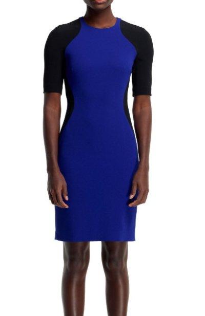 画像1: 【リブタイラー愛用】Stella McCartney    Anita Contour Colorblock Sheath Dress