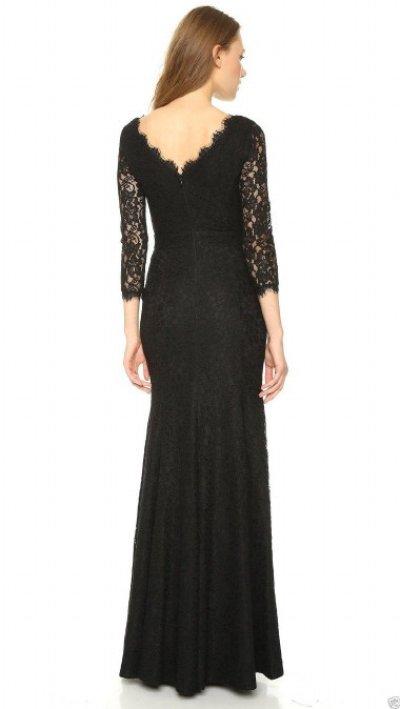 画像2: 【キャサリン妃ご愛用】Diane von Furstenberg  Zarita Lace Gown ブラック