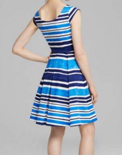 画像1: 【AneCan掲載】Kate Spade New York    Mariella Dress フレンチネイビー