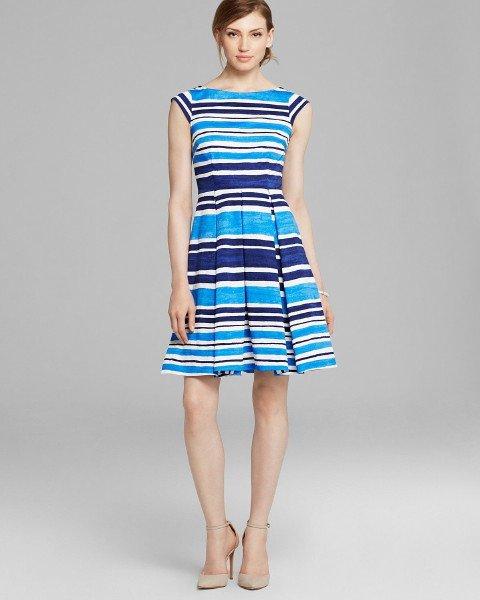 画像1: 【AneCan掲載】Kate Spade New York    Mariella Dress フレンチネイビー (1)