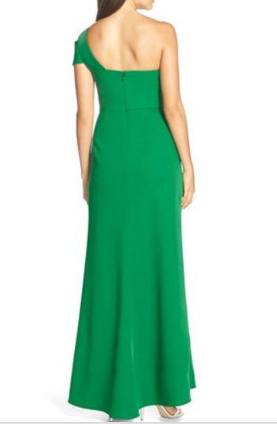 画像1: 【ドラマ使用】BCBGMaxAzria  Annely one shoulder gown