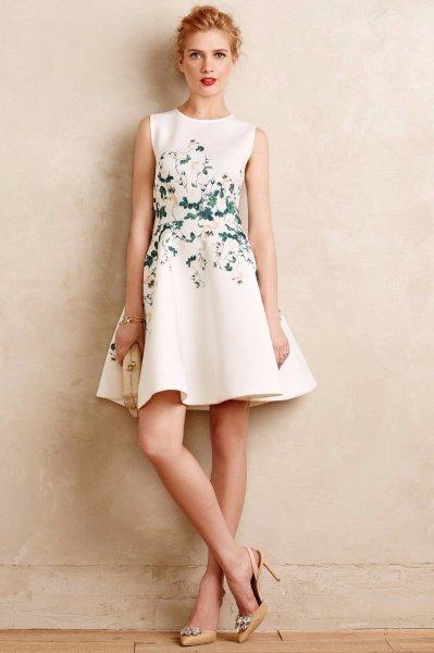 画像1: 【ヴァンサンカン掲載】ERIN erin fetherston エリンフェザーストン Sweetheart Roses Dress (1)