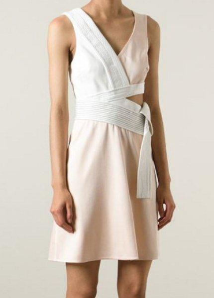 画像1: ドラマ【ミストレス使用】3.1 Phillip Lim Judo Belt asymmetric dress (1)