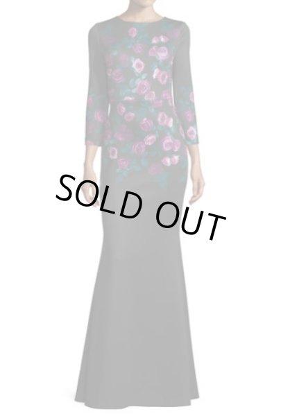 画像1: ERIN erin fetherston エリンフェザーストン  Floral-Print Mermaid Gown (1)