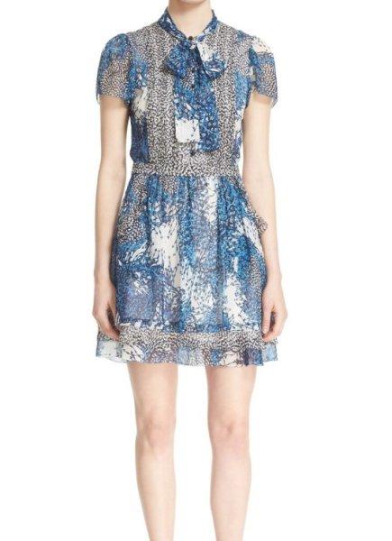 画像1: 【ドラマ使用】Diane von Furstenberg ダイアンフォンファステンバーグ Marisa Shirtdress (1)