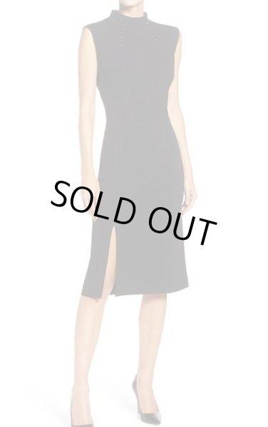 画像1: 【イヴァンカトランプ愛用】Ivanka Trump Scuba Crepe Paneled Sheath Dress ブラック (1)
