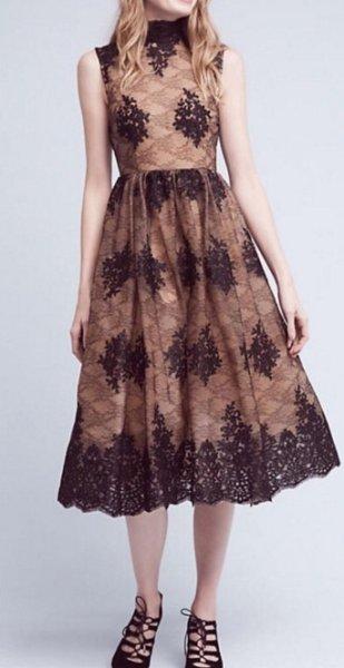 画像1: Tracy Reese トレイシーリース Ardor Lace Dress  (1)
