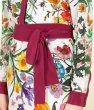 画像4: GUCCI グッチ  Crepe de Chine Flora Print Shirt Dress (4)