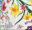 画像5: GUCCI グッチ  Crepe de Chine Flora Print Shirt Dress (5)