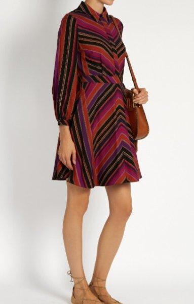 画像1: 【ドラマ使用】Diane von Furstenberg ダイアンフォンファステンバーグ Chrissie dress (1)