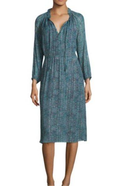 画像1: 【Kelly Ripa着用】Rebecca Taylor レベッカテイラー Minnie Floral Chiffon Dress (1)